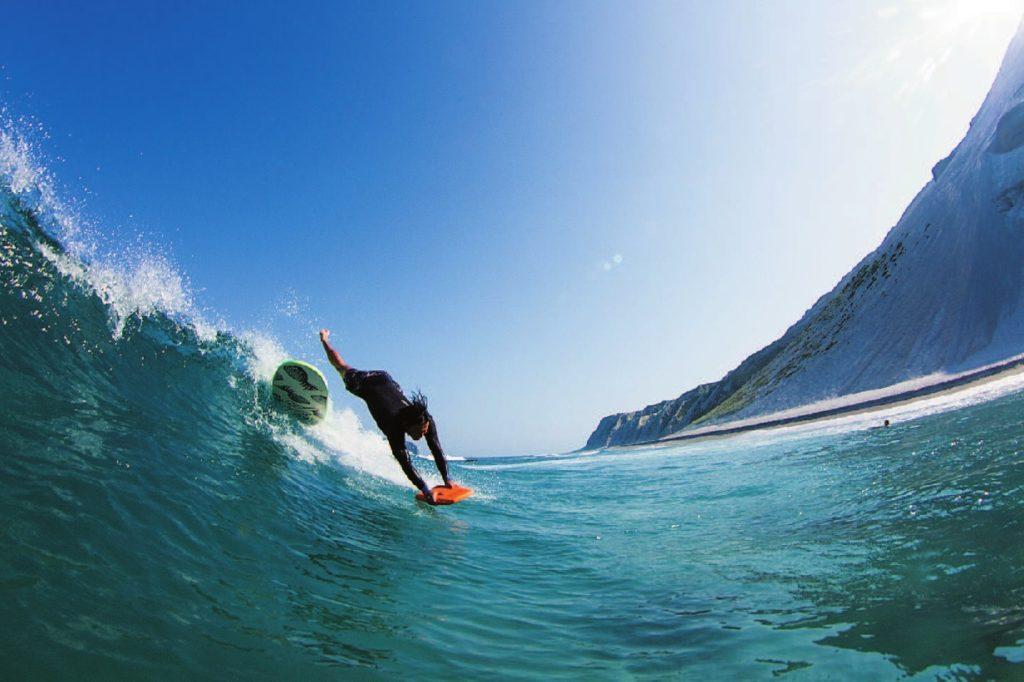 新島 サーフィン