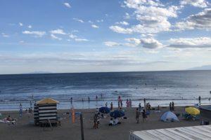 サーフィン  由比ヶ浜海岸