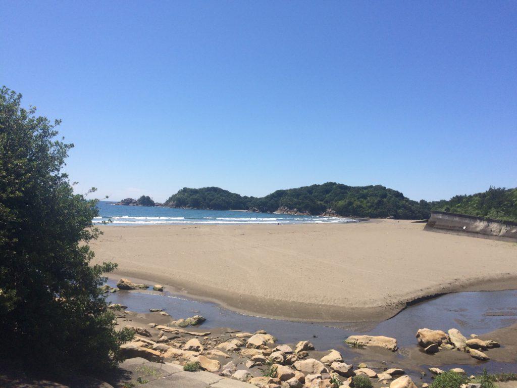 生見 サーフィン サーフトリップ 高知 徳島