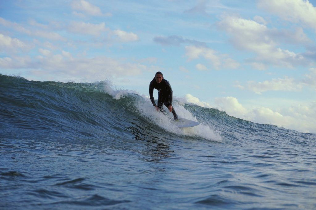 サーフィン ストレッチ