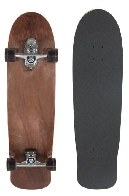 .ウッディープレススケートボード