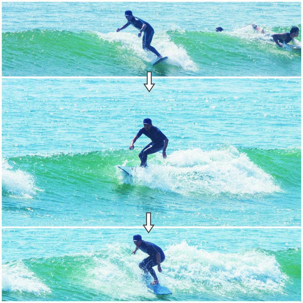小波のライディング