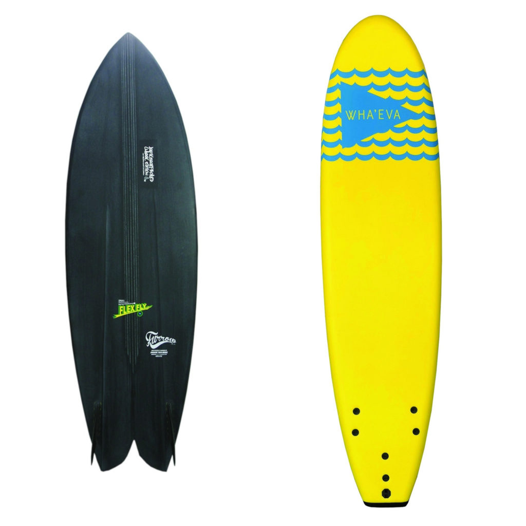 小波用サーフボード