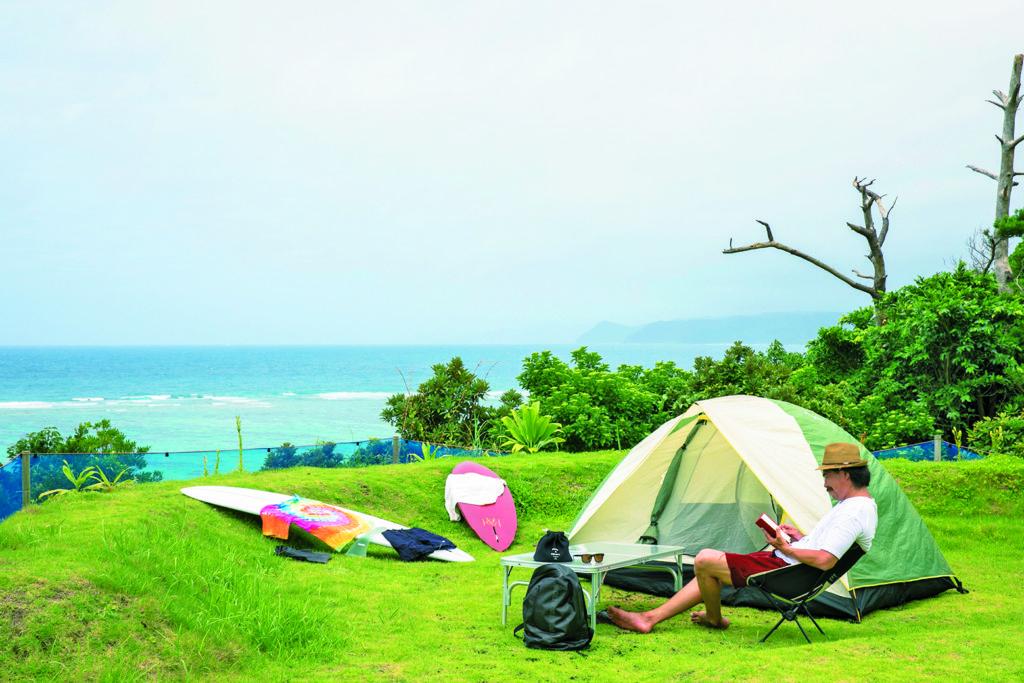 奄美大島でサーフキャンプ